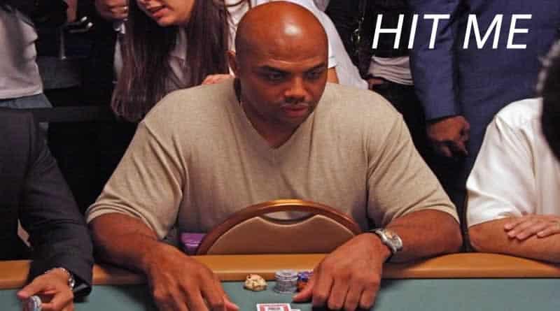 Charles Barkley At The Casino Gambling