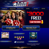 Las Vegas USA Offers The Only Cashable Blackjack Bonus On The Web