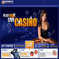 Sportsbetting.ag offers live dealer blackjack games