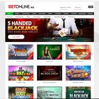 BetOnline Casino Screenshot