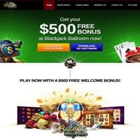 Blackjack Ballroom €500 Free Bonus